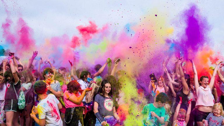 פסטיבל הולי בהודו